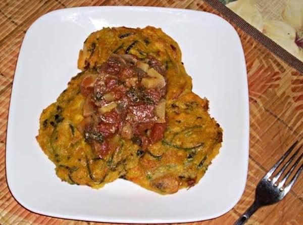 Zucchini & Yam Frittata