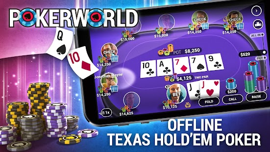 Poker World - Offline Texas Holdem- screenshot thumbnail
