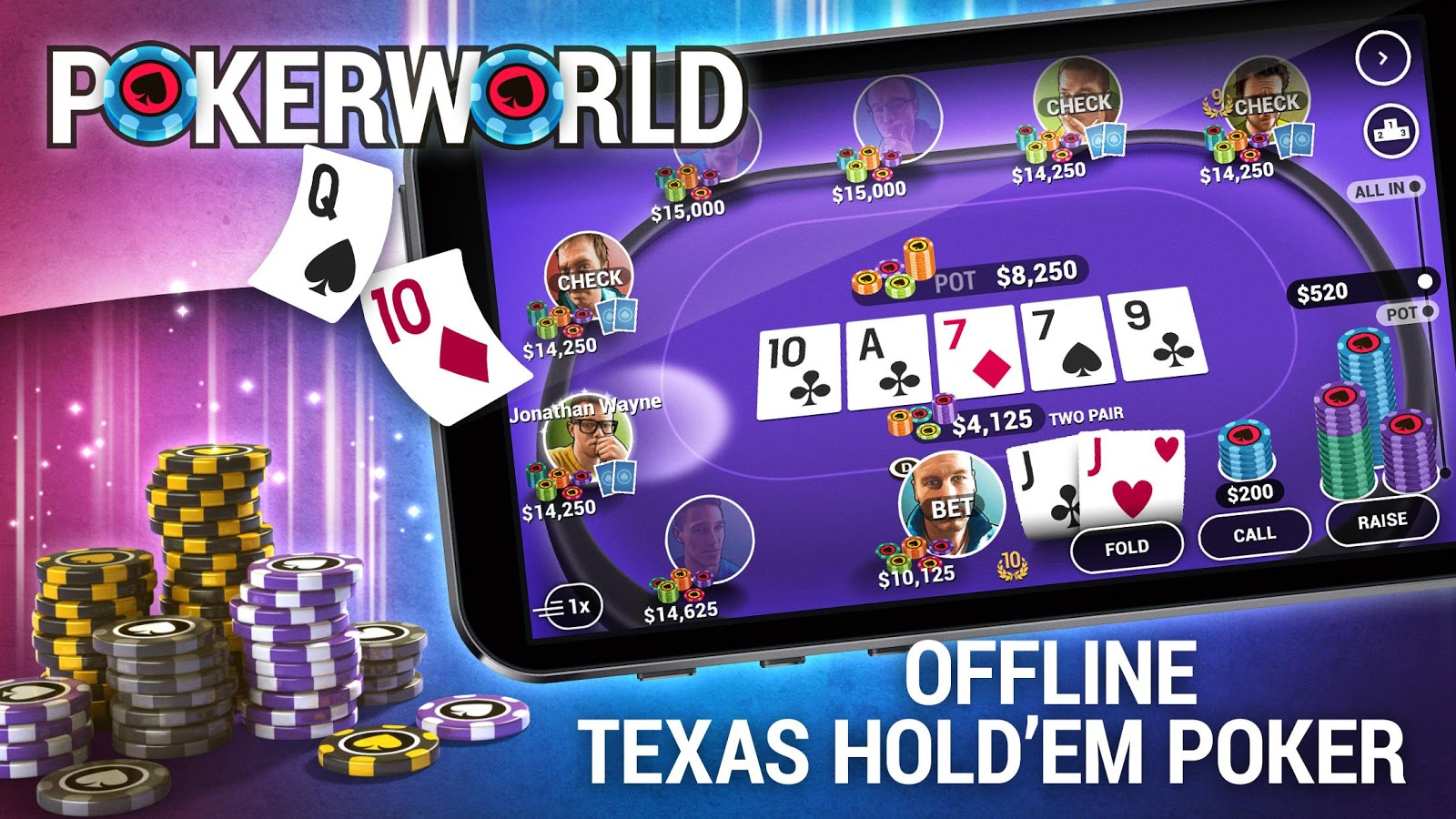 Poker World - Offline Texas Holdem- screenshot