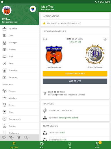 Hattrick Football Manager Game apktram screenshots 9