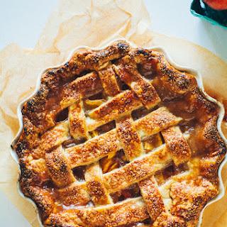 Summer Peach Pie.