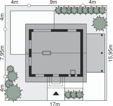 Dom przy Imbirowej 3 N - Sytuacja