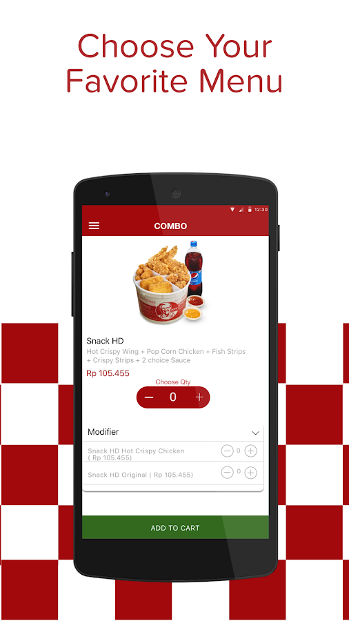 KFC Indonesia - Home Delivery- screenshot