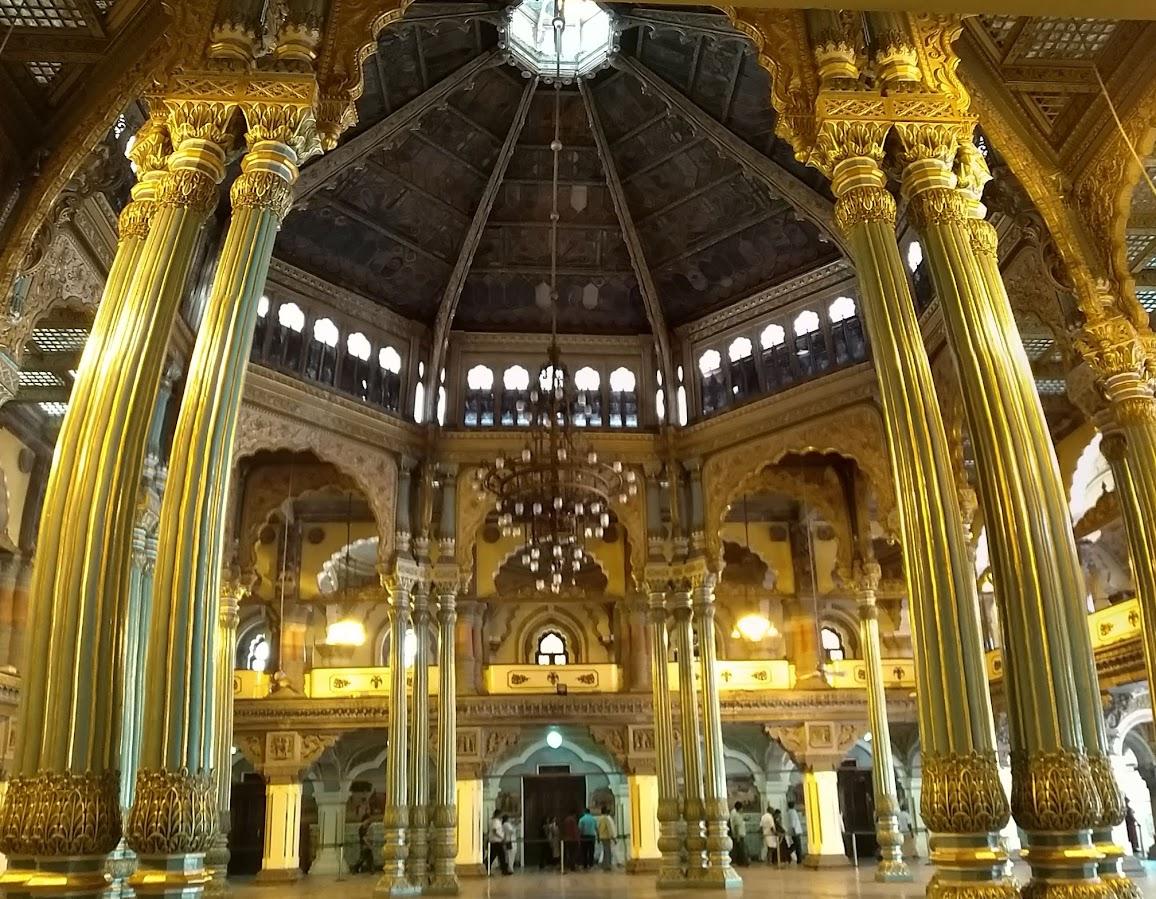 Hall, Inside the Mysore Palace