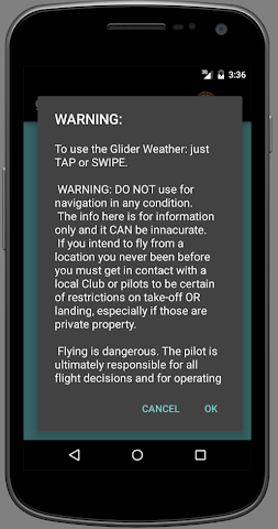 android glider Weather Screenshot 6