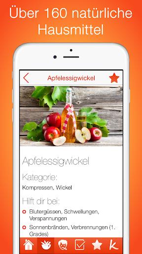 Hausmittel PRO screenshot for Android