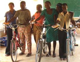 Photo: Gloria Adoboe, Jacqueline Koomson, Liz Agbeleke, Jemima Abbans Esther Drayi Grace Nyanney in Mankessim
