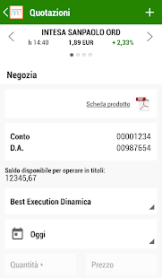 Intesa Sanpaolo Investimenti - náhled