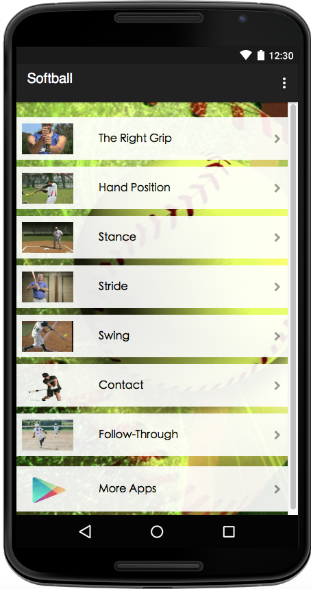 Softball Guide- screenshot