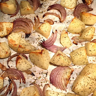 Herbed Oven Roasted Potatoes And Onions
