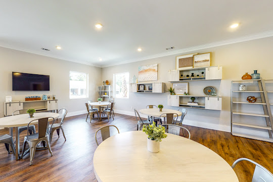 Community clubhouse with upscale finishes