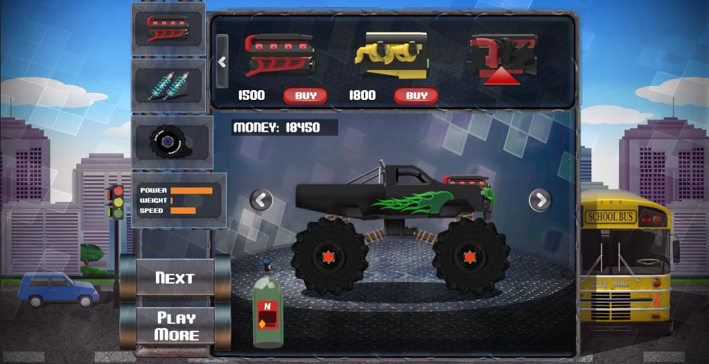 MonsterTruck Ultimate Ground 2- screenshot