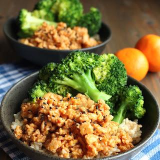 Ground Chicken Rice Recipes