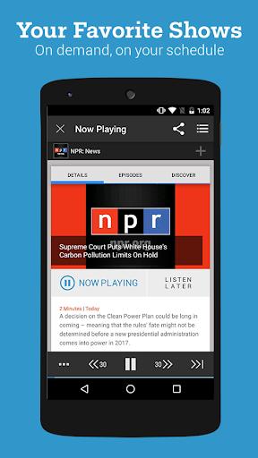 Stitcher Radio for Podcasts Screenshot