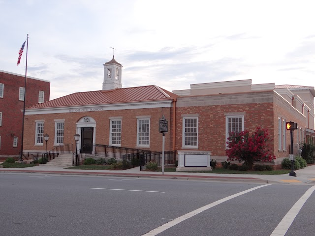 Old Newton, NC post office; now Old Post Office Playhouse