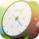 Material Analog Watch Face Icon