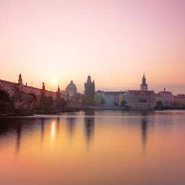 The Charles Bridge  by Michal Kostka - Instagram & Mobile Android ( huawei, czech republic, charlesbridge, prague, czechia )