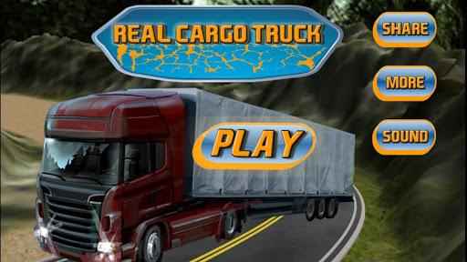 レアルカーゴトランスポータートラック