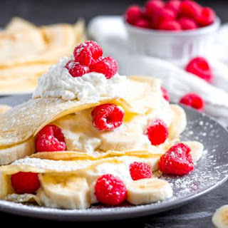French Protein Crepes.
