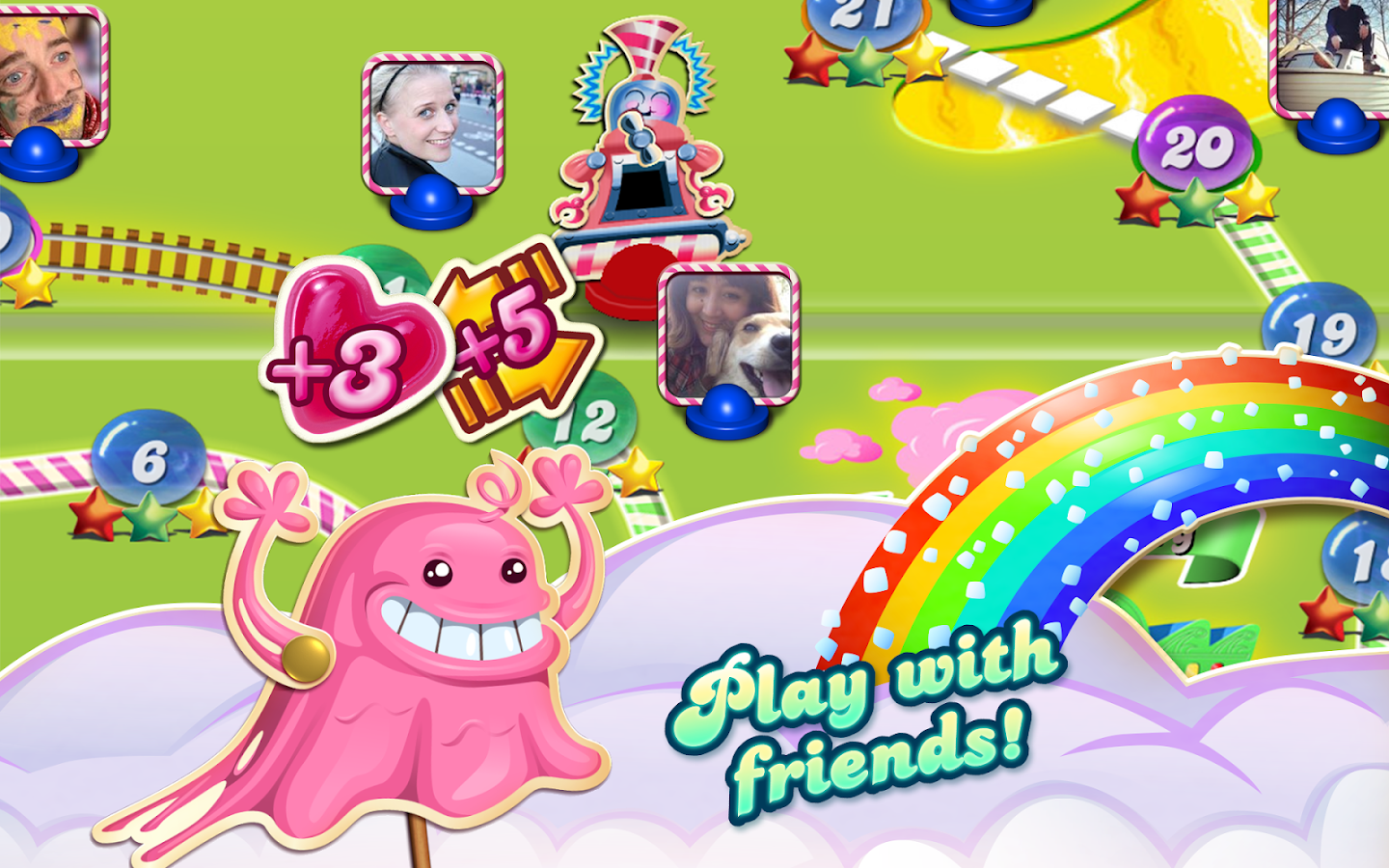 Candy Crush Saga – zrzut ekranu