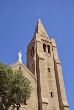 Photo: veža kostola Notre Dame De Lourdes /Panny Márie Lurdskej/