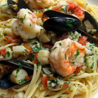 Shrimp Scallops Crab Pasta Recipes.