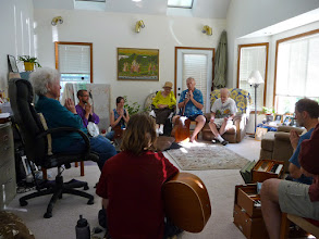 Photo: Summer Kirtan in the Great Room