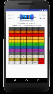 smd resistor code calculator Apk,color resistor 4