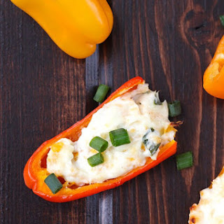 Herb Cream Cheese Mini Bell Peppers.