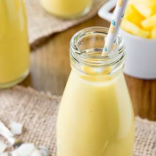 Pineapple Coconut Mango Smoothie