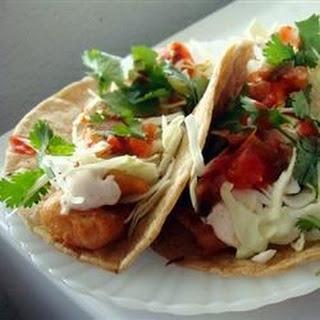 Kevin's Baja Style Grenadier Fish Tacos.
