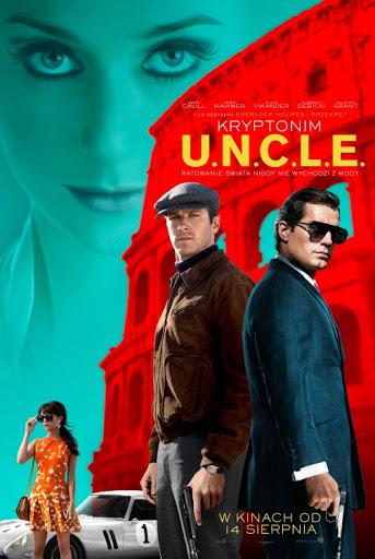Polski plakat filmu 'Kryptonim U.N.C.L.E'