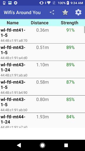 Wifi Signal Strength Meter screenshots 2