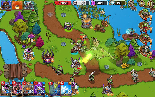 Crazy Defense Heroes: Tower Defense Strategy TD 1.9.9 screenshots 16