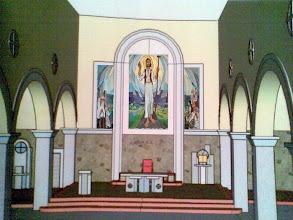 Photo: Novi izgled prezbiterija župne Crkve u Podhumu