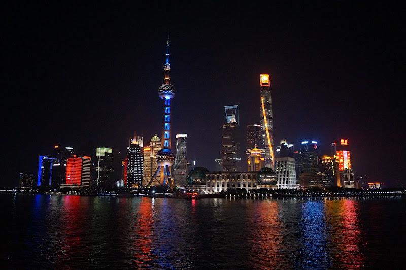 Shanghai, The Bund, by night di Lipalipa