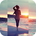 Square Blur- Blur Image Background Music Video Cut icon