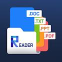 All Doc Reader: Word Docs Sheets Slide & PDF icon