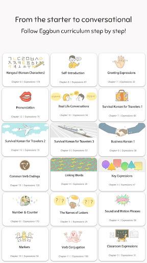 Eggbun: Learn Korean Fun 4.2.12 screenshots 2
