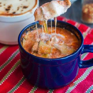 Easy Zucchini Lasagna Soup.