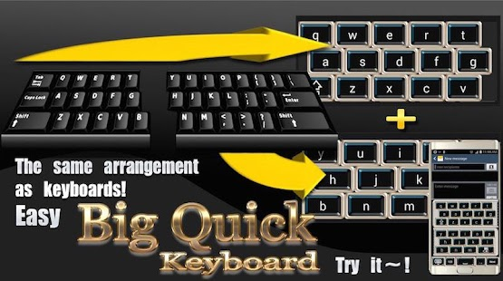Big Quick Keyboard Free- screenshot thumbnail