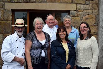 Photo: Chef Michael Young M.B.E, Jo Toland, Master Baker Robert Ditty , Catherine (GIFT International), Caroline (INIB Secretary) and Janet (GIFT International).