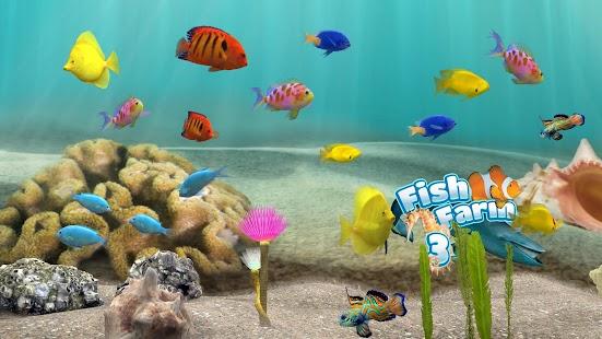 T l charger fish farm 3 fond d 39 cran anim aquarium en 3d apk 1 apk pour android - Fond aquarium 3d ...