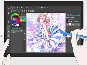 MediBang Paint - Make Art ! APK screenshot thumbnail 6