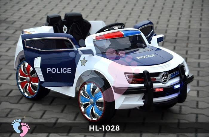 Xe ô tô điện cảnh sát HL-1028 5