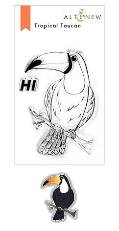 Altenew Stamp & Die Bundle - Tropical Toucan