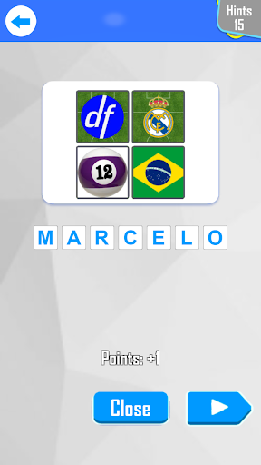 4 Pics 1 Footballer 4.0.0 screenshots 4