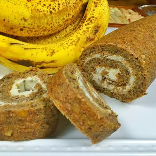 Banana Walnut Yogurt Roll