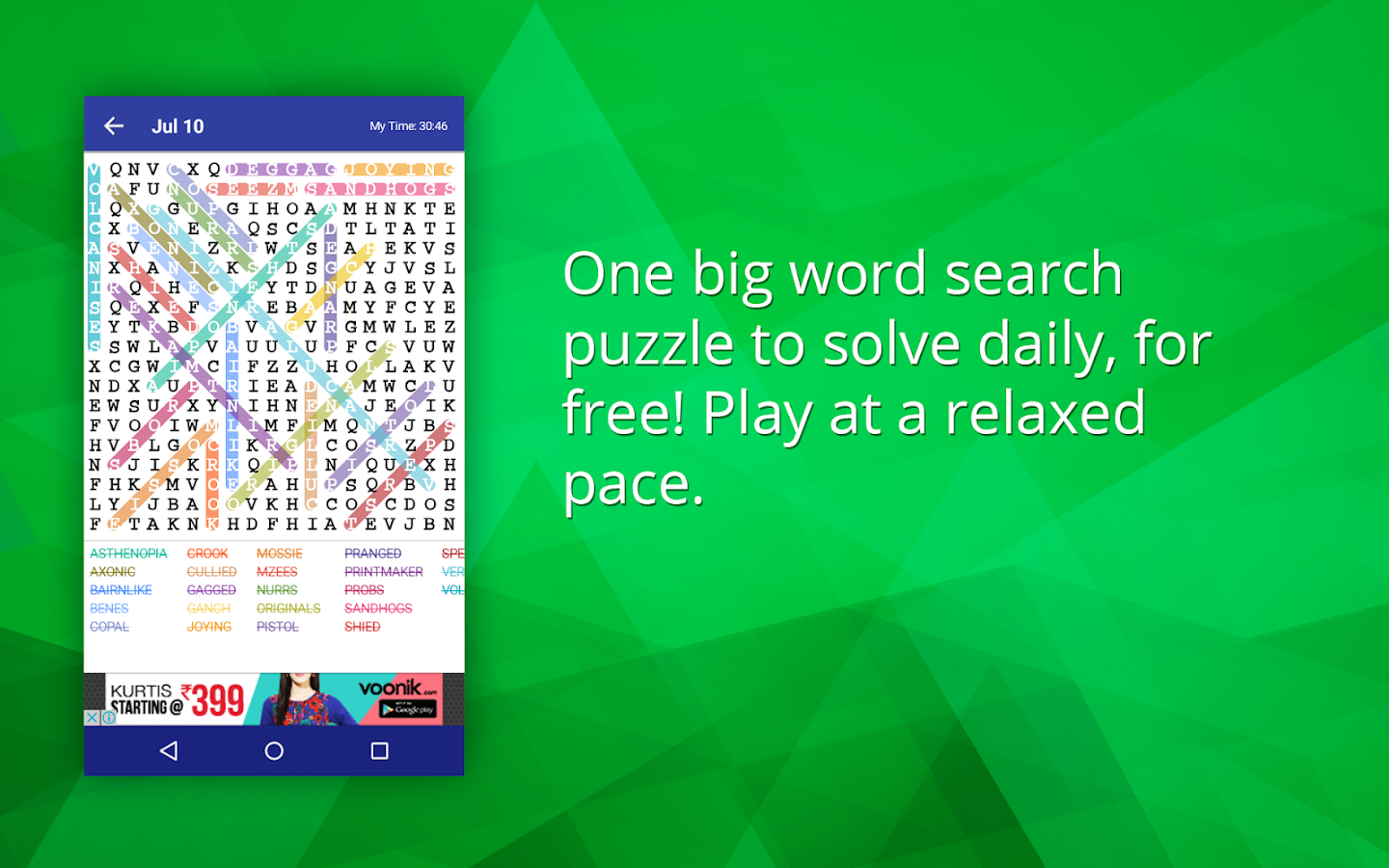 word search advanced puzzle android apps on google play