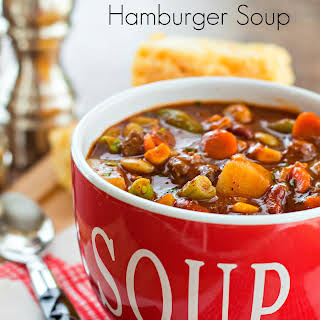 Barbecue Hamburger Soup.